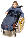 All weather wheelchair wear and accessories for children