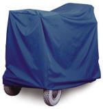 Lightweight weatherproof storage cover for a mobility buggy
