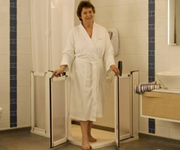 Easy access shower enclosures, half height shower screens,  shower pods, shower cubicles and enclosures